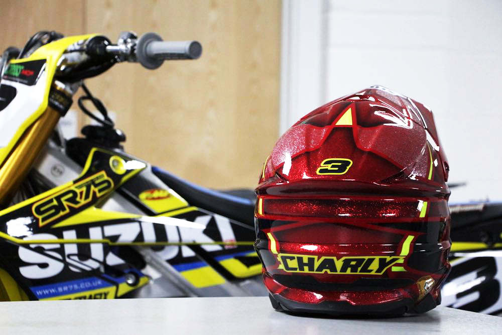 sr75 supercross helmets